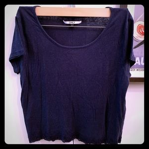 ONLY Lace Embellished T-Shirt from ASOS